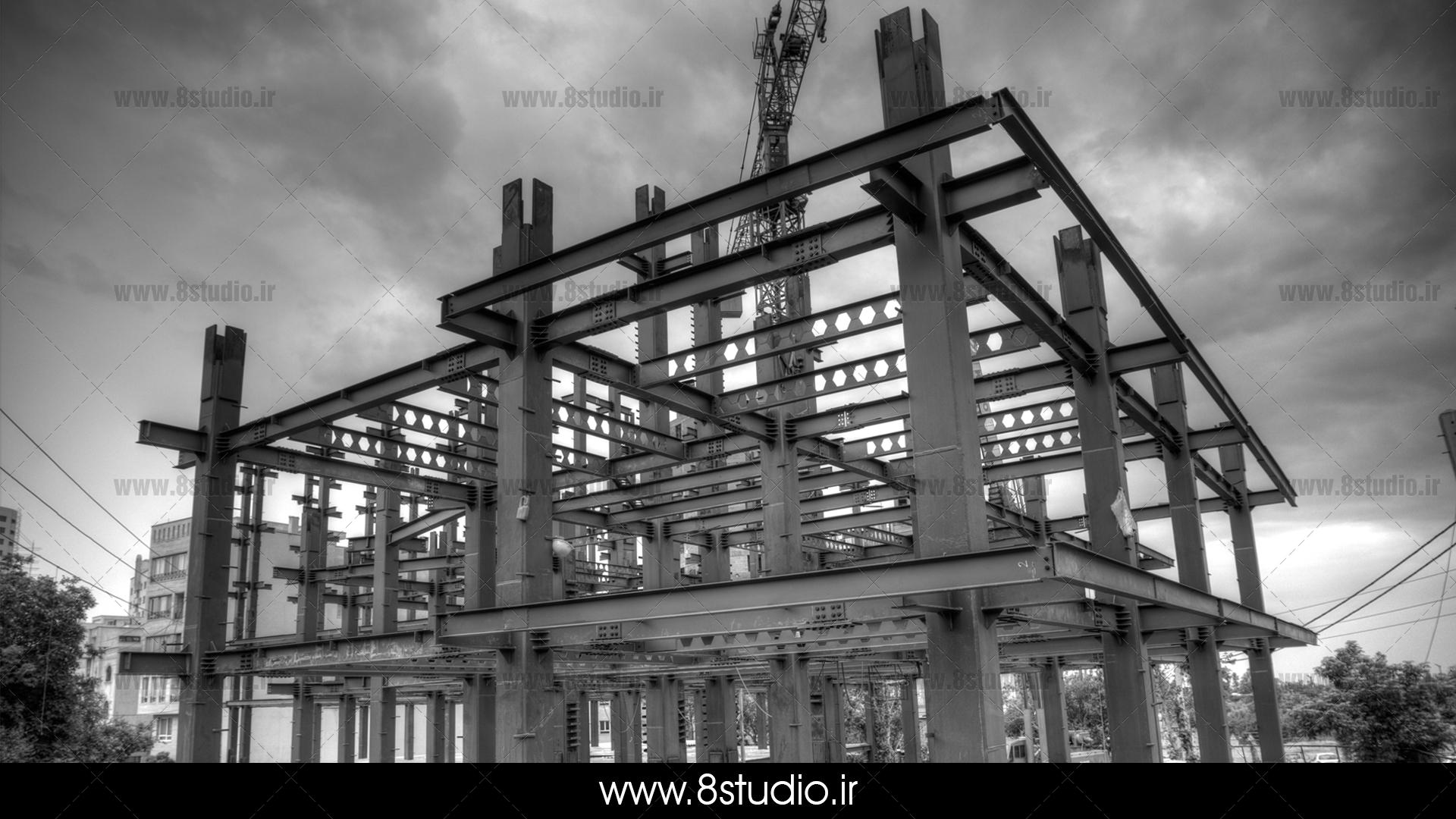 عكاسي پروژه آتی شهر سازه رام