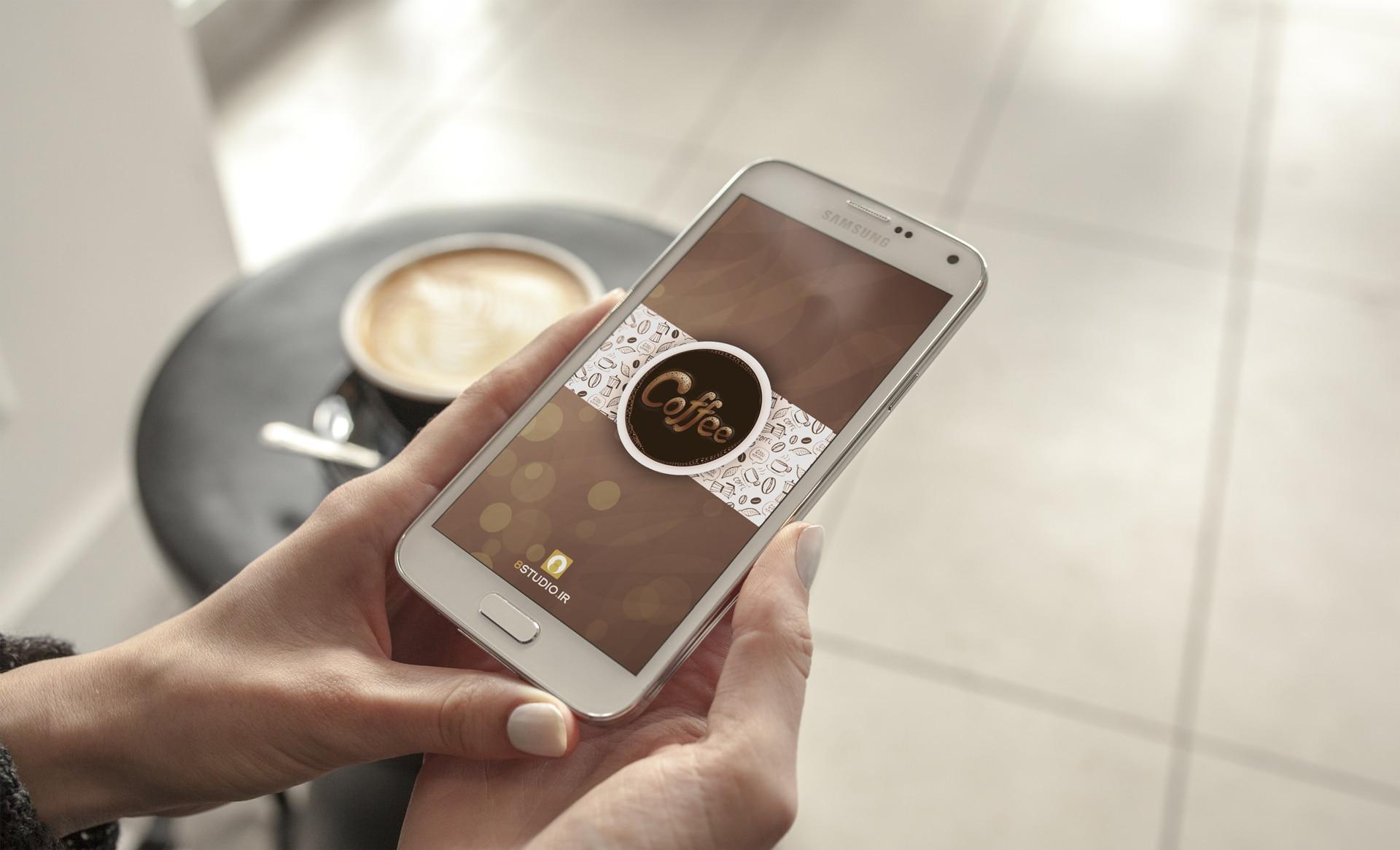 اپلیکیشن قهوه تایم